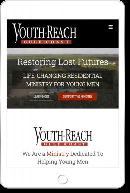 Youth-Reach Gulf Coast Website