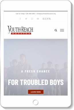 Youth-Reach Houston Website
